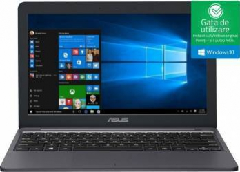 pret preturi Laptop Asus VivoBook E203NA Intel Celeron Apollo Lake N3350 32GB EMMC 4GB Win10 HD