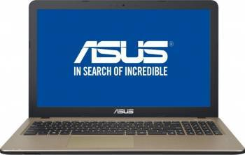 Laptop Asus Vivobook Max 15 X541UA Intel Celeron N3350 1TB 4GB Endless HD Chocolate Black Laptop laptopuri