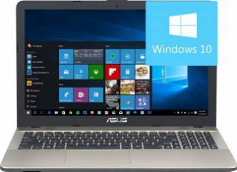 Laptop Asus VivoBook Max X541NA-GO120T Intel Celeron N3350 500GB 4GB Win10 HD Chocolate Black Laptop laptopuri