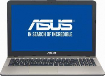 Laptop Asus VivoBook Max X541UV-DM729 Intel Core Kaby Lake i7-7500U 1TB 8GB nVidia 920MX 2GB Endless FHD Chocolate Black laptop laptopuri