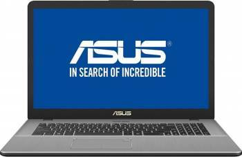 Laptop Asus VivoBook Pro 17 Intel Core Kaby Lake R i5-8250U 1TB+128GB 8GB GTX 1050 4GB FullHD Endless Gri Fingerprint Laptop laptopuri