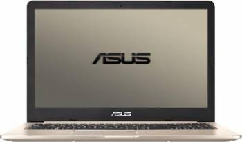 Laptop Asus VivoBook Pro N580VD Intel Core Kaby Lake i7-7700HQ 1TB 8GB nVidia GTX1050 4GB Endless FHD Gold Metal laptop laptopuri