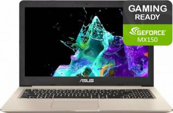Laptop Asus Vivobook PRO N580VN Intel Core Kaby Lake i7-7700HQ 500GB HDD+128GB SSD 8GB nVidia MX150 2GB Endless FullHD laptop laptopuri