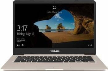 Laptop Asus VivoBook S14 S406UA Intel Core Kaby Lake R(8th Gen) i5-8250U 256GB 8GB Win10 FullHD Gold Laptop laptopuri