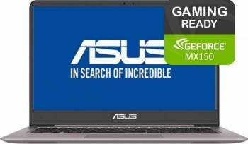 Laptop Asus VivoBook S15 S510UN Intel Core Kaby Lake R(8th Gen) i7-8550U 1TB 8GB nVidia GeForce MX150 2GB FullHD Gri Laptop laptopuri