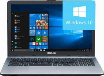 Laptop Asus VivoBook X541UA Intel Core Kaby Lake i5-7200U 1TB 4GB FullHD Win10 Silver