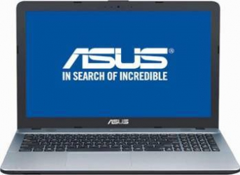 Laptop Asus VivoBook Max X541UA Intel Core Kaby Lake i3-7100U 500GB 4GB DVD-RW Endless HD Argintiu Laptop laptopuri