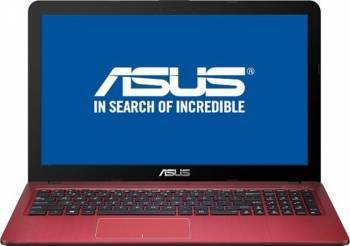 Laptop ASUS X540SA-XX374 Intel Celeron Dual Core N3060 500GB 4GB HD Rosu