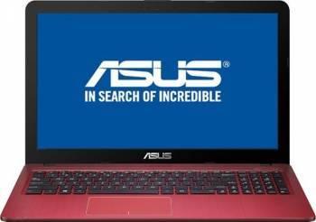 Laptop ASUS X540SA-XX374 Intel Celeron Dual Core N3060 500GB 4GB HD Rosu