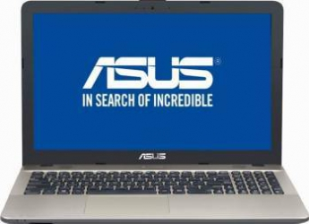Laptop Asus X541NA-GO012 Intel Pentium Quad Core N4200 500GB 4GB Endless HD Chocolate Black Laptop laptopuri