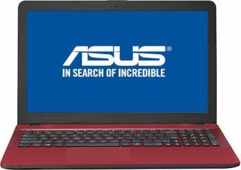 Laptop Asus X541UA-GO1262D Intel Core i3-6006U 500GB 4GB HD DVDRW Rosu Laptop laptopuri