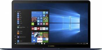 Ultrabook Asus ZenBook 3 UX490UAR Intel Core Kaby Lake R(8th Gen) i7-8550U 512GB 16GB Win10 Pro FullHD Blue Laptop laptopuri