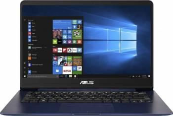 Ultrabook Asus ZenBook UX430UA Intel Core Kaby Lake R(8th Gen) i7-8550U 512GB 8GB Win10 FullHD FPR Albastru Laptop laptopuri