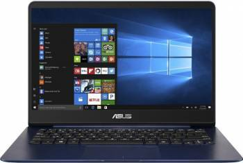 Ultrabook Asus ZenBook UX430UN Intel Core Kaby Lake R 8th Gen i7-8550U 256GB 16GB nVidia 150MX 2GB Win10 FHD Blue FPR Laptop laptopuri