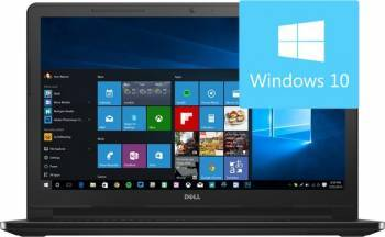 Laptop Dell Inspiron 3567 Intel Core i3-6006U 500GB 4GB Win10 HD Laptop laptopuri