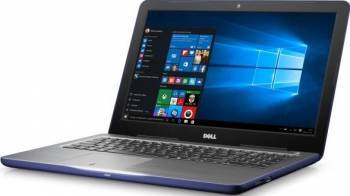 Laptop Dell Inspiron 5567 Intel Core Kaby Lake i5-7200U 1TB 4GB AMD Radeon R7 M445 2GB Win10 FullHD Albastru