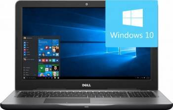 Laptop Dell Inspiron 5567 Intel Core Kaby Lake i5-7200U 256GB 8GB AMD Radeon R7 M445 4GB Win10 FullHD Laptop laptopuri