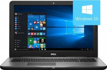 Laptop Dell Inspiron 5567 Intel Core Kaby Lake i7-7500U 1TB 8GB AMD Radeon R7 M445 4GB Win10 FullHD Laptop laptopuri