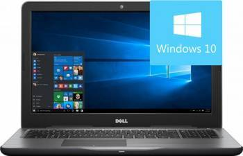Laptop Dell Inspiron 5567 Intel Core Kaby Lake i7-7500U 256GB 16GB AMD Radeon R7 M445 4GB Win10 FullHD Laptop laptopuri