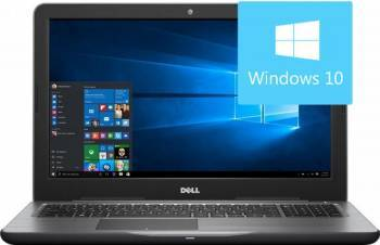 Laptop Dell Inspiron 5567 Intel Core Kaby Lake i7-7500U 256GB 8GB AMD Radeon R7 M445 4GB Win10 FullHD Laptop laptopuri