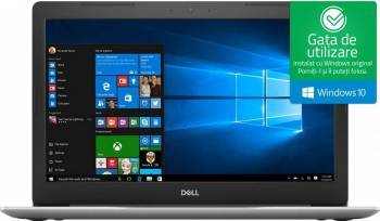 Laptop Dell Inspiron 5570 Intel Core Kaby Lake R (8th Gen) i7-8550U 2TB HDD+256GB SSD 16GB AMD Radeon 530 4GB Win10 FHD Laptop laptopuri