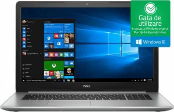 Laptop Dell Inspiron 5770 Intel Core Kaby Lake R(8th Gen) i7-8550U 2TB HDD+256GB SSD 16GB AMD Radeon 530 4GB Win10 FHD Laptop laptopuri