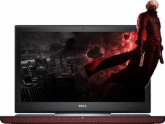 Laptop Dell Inspiron 7566 Intel Core i7-6700HQ 500GB HDD+128GB SSD 8GB Nvidia GeForce GTX 960M 4GB Win10 FullHD Rosu