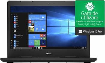 Laptop Dell Latitude 3480 Intel Core Kaby Lake i3-7100U 500GB 4GB HD Win10 Pro 3ani garantie Laptop laptopuri