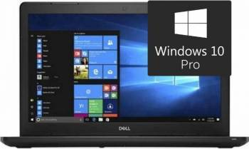 Laptop Dell Latitude 3580 Intel Core Kaby Lake i5-7200U 256GB 8GB Win10 Pro HD Laptop laptopuri