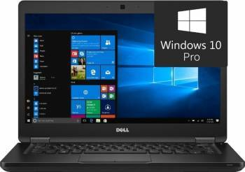 Laptop Dell Latitude 5480 Intel Core Kaby Lake i5-7200U 500GB 8GB Win10 Pro FullHD Laptop laptopuri