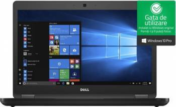 pret preturi Laptop Dell Latitude 5480 Intel Core Kaby Lake i5-7300U 500GB 8GB Win10 Pro FullHD Tast. iluminata