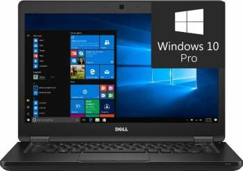 Laptop Dell Latitude 5480 Intel Core Kaby Lake i5-7440H 256GB 8GB Win10 Pro FullHD Laptop laptopuri