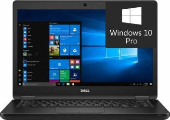Laptop Dell Latitude 5480 Intel Core Kaby Lake i5-7440HQ 256GB 8GB nVidia GeForce 930MX 2GB Win10 Pro FullHD Laptop laptopuri