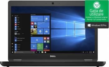Laptop Dell Latitude 5480 Intel Core Kaby Lake i5-7440HQ 256GB 8GB Win10 Pro FullHD FPR 3 ani garantie NBD Laptop laptopuri