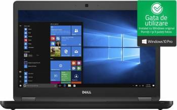 Laptop Dell Latitude 5480 Intel Core Kaby Lake i7-7600U 256GB 8GB Win10 Pro FullHD Fingerprint Laptop laptopuri