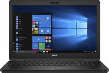 Laptop Dell Latitude 5580 Intel Core Kaby Lake i5-7200U 500GB 4GB Win10 Pro HD FPR Laptop laptopuri