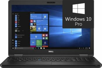Laptop Dell Latitude 5580 Intel Core Kaby Lake i5-7300U 512GB 16GB Win10 Pro FullHD Laptop laptopuri