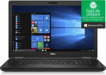 Laptop Dell Latitude 5580 Intel Core Kaby Lake i5-7440H 256GB 16GB Nvidia GeForce 930MX Win10 Pro FullHD