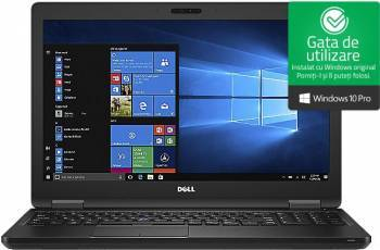 Laptop Dell Latitude 5580 Intel Core Kaby Lake i5-7440HQ 512GB 16GB Win10 Pro FullHD Fingerprint Laptop laptopuri