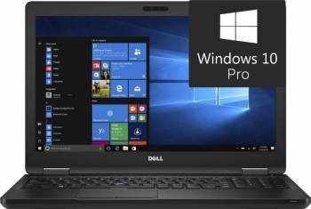 Laptop Dell Latitude 5580 Intel Core Kaby Lake i7-7600U 1TB 8GB Win10 Pro FullHD Laptop laptopuri