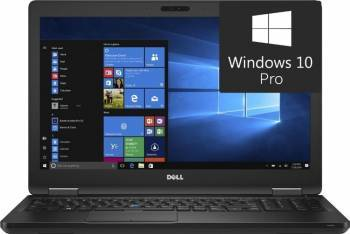 Laptop Dell Latitude 5580 Intel Core Kaby Lake i7-7600U 256GB 16GB nVidia Geforce 930MX 2GB Win10 Pro FullHD Laptop laptopuri