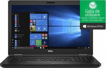 Laptop Dell Latitude 5580 Intel Core Kaby Lake i7-7600U 256GB 8GB Win10 Pro FullHD FPR 3 ani garantie NBD Laptop laptopuri