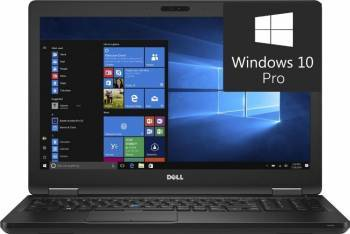 Laptop Dell Latitude 5580 Intel Core Kaby Lake i7-7600U 256GB 8GB Win10 Pro FullHD Laptop laptopuri