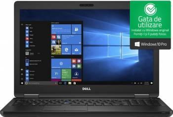 Laptop Dell Latitude 5580 Intel Core Kaby Lake i7-7820HQ 512GB 16GB GeForce 940MX 2GB FullHD Win10 Pro FPR Laptop laptopuri