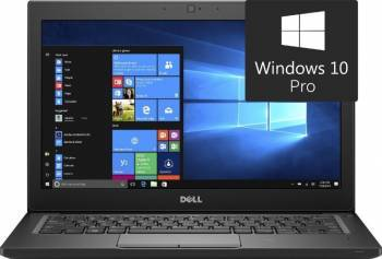 Laptop Dell Latitude 7280 Intel Core Kaby Lake i7-7600U 256GB 16GB Win10 Pro FullHD Fingerprint Laptop laptopuri