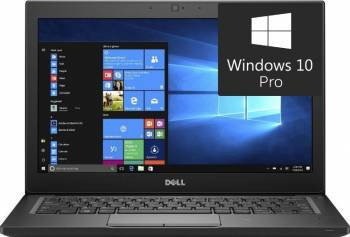 Laptop Dell Latitude 7280 Intel Core Kaby Lake i7-7600U 256GB 8GB Win10 Pro FullHD FPR 3 ani garantie NBD Laptop laptopuri