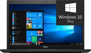 Laptop Dell Latitude 7480 Intel Core Kaby Lake i5-7300U 256GB 8GB Win10 Pro QHD Fingerprint Laptop laptopuri
