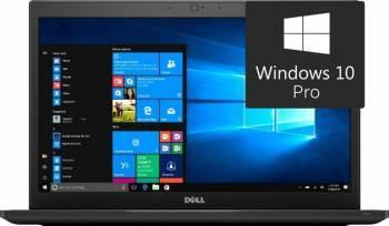 Laptop Dell Latitude 7480 Intel Core Kaby Lake i7-7600U 256GB 8GB Win10 Pro FullHD FPR 3 ani garantie NBD Laptop laptopuri