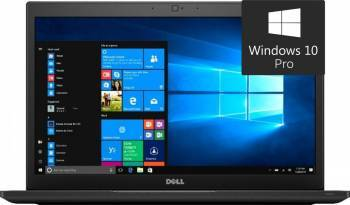 Laptop Dell Latitude 7480 Intel Core Kaby Lake i7-7600U 512GB 16GB Win10 Pro FullHD Fingerprint Laptop laptopuri