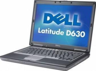 Laptop Dell Latitude D630 T7500 2GB DDR2 80GB Win 10 Home Laptopuri Reconditionate,Renew